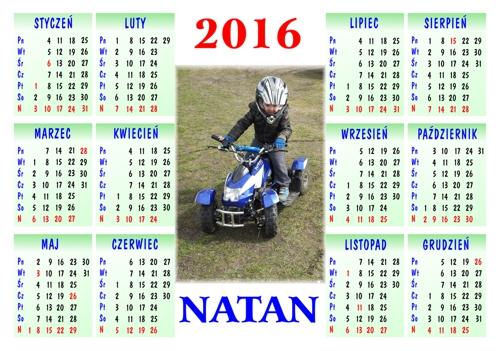 12 miesięczny kalendarz
