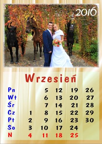 Kalendarz jedno zdjęcie – jeden miesiąc